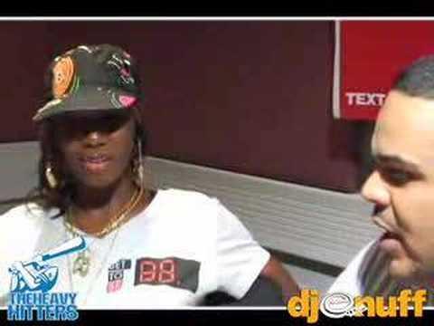 Hot 97-DJ Enuff Santogold Interview