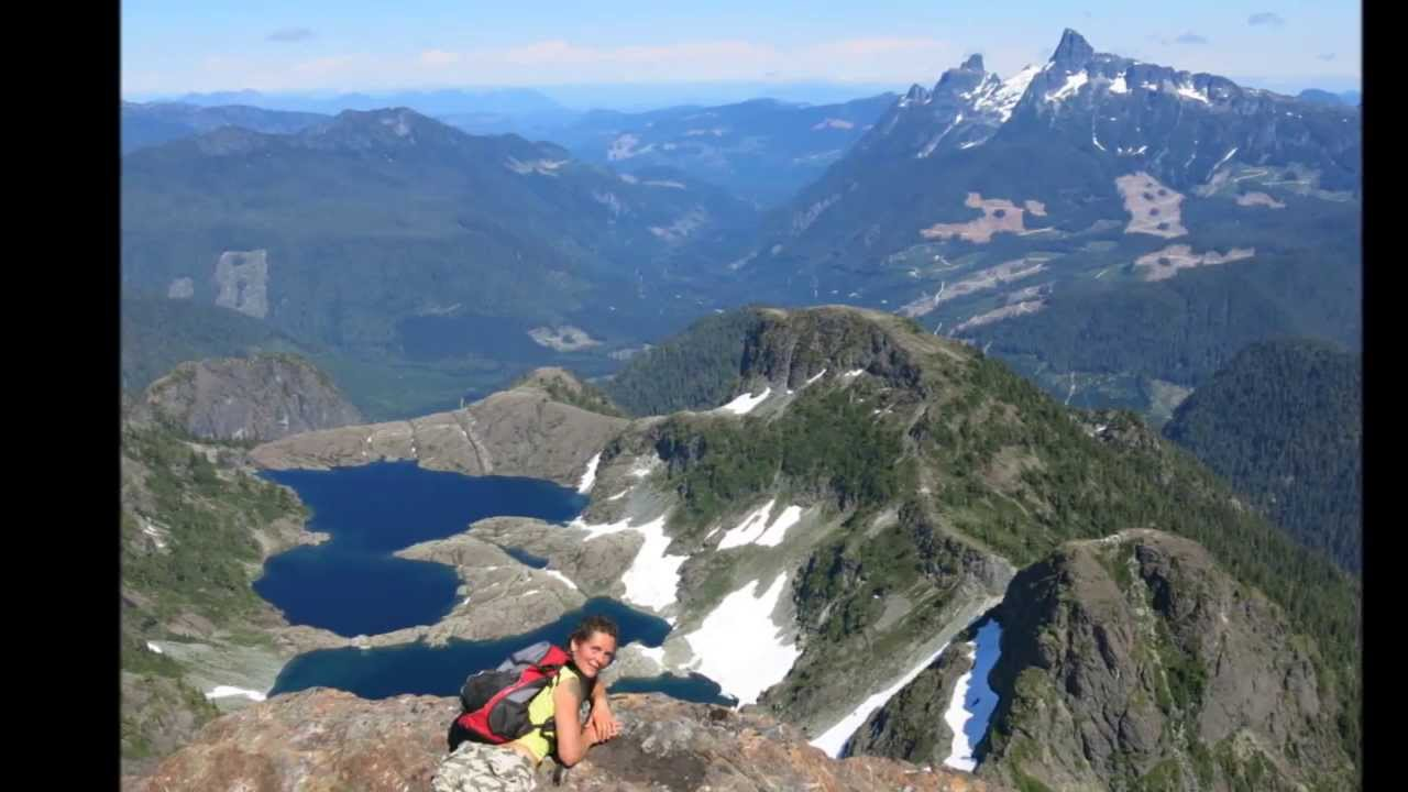 Mountain Hiking on Vancouver Island