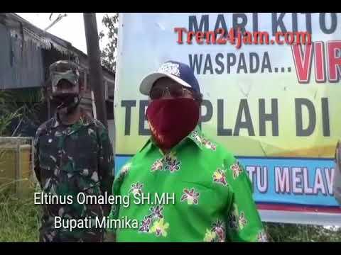 BUPATI APRESIASI TNI-POLRI,  KALAU SEPERTI INI DI PERTAHANKAN MAKA 14 HARI KEDEPAN VIRUS CORONA AKAN MENURUN
