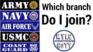 Which Military branch should I join? | What is the best branch of the military to join?