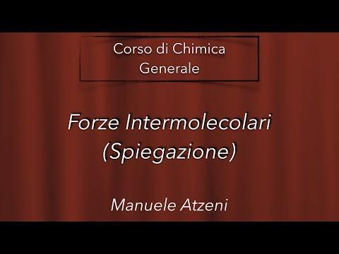 Chimica Generale (Forze intermolecolari) L39
