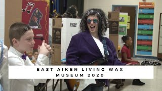 East Aiken School of the Arts Living Wax Museum 2020 (The Front Page)