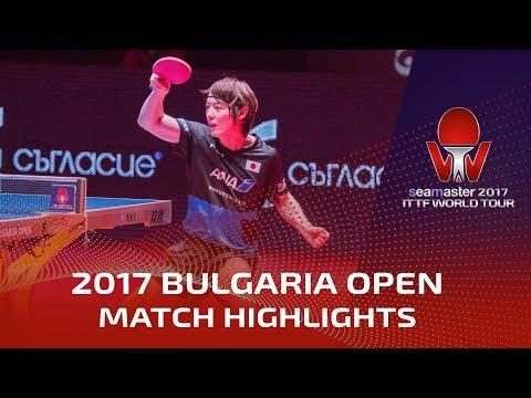 2017 Bulgaria Open Highlights: Dimitrij Ovtcharov vs Kenta Matsudaira (Final)