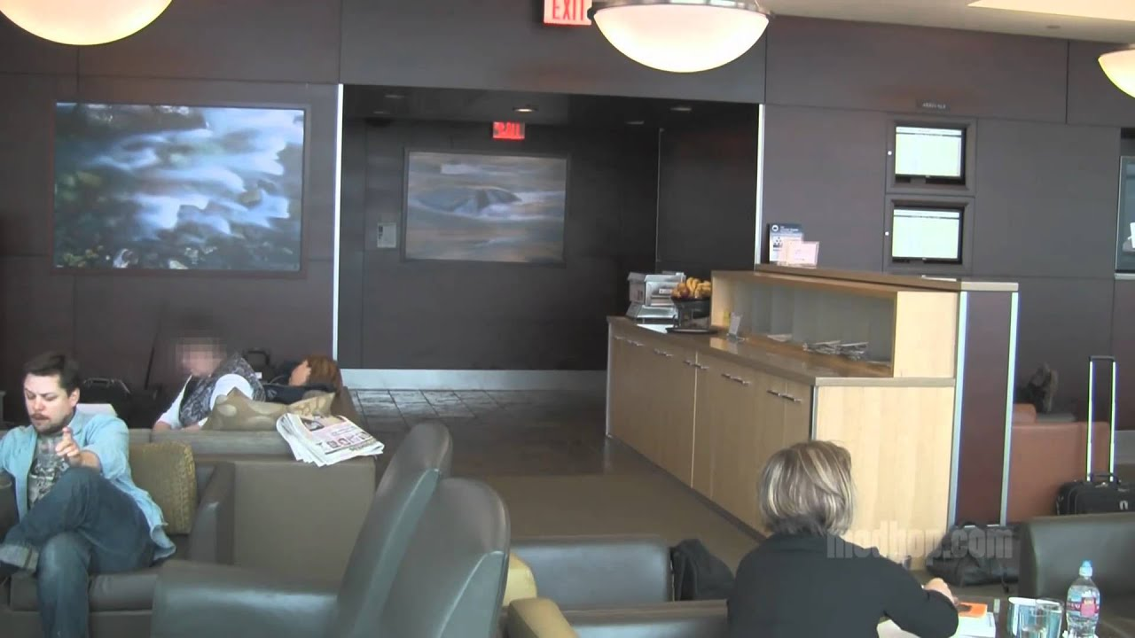 Modhop.com Review | Alaska Airlines BoardRoom | Seattle/Tacoma Int ...