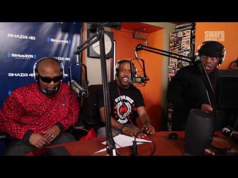 Tech N9ne & Krizz Kaliko Announce New 'Strange Music' Signee Murs & Freestyle on Sway in the Morning