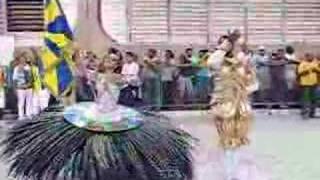 1ºCASAL DE MESTRE-SALA E PORTA-BANDEIRA UNIDOS DA TIJUCA
