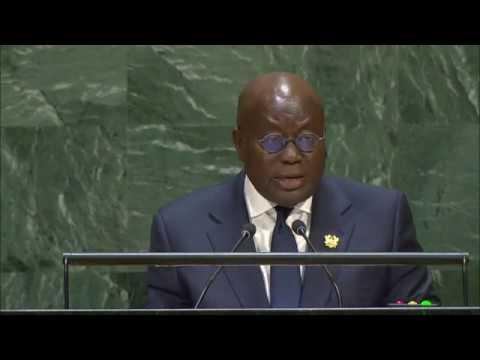 🇬🇭 Ghana - President Addresses General Debate, 74th Session