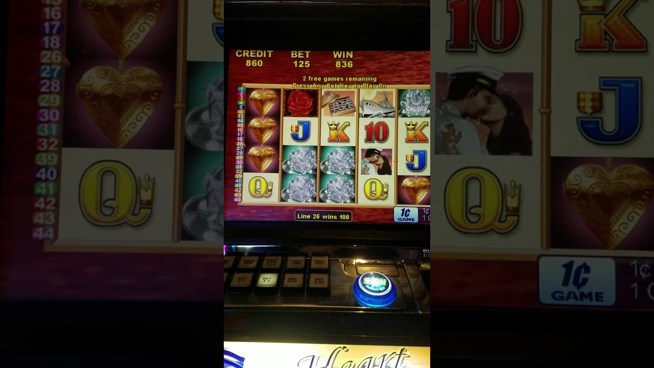 Hearts Of Gold Slots