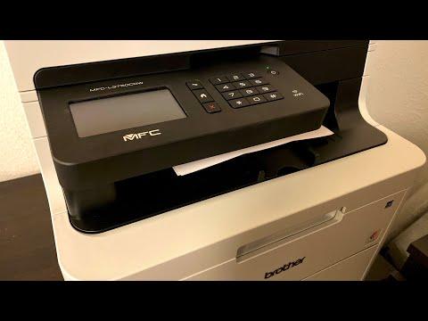 Brother LED Printer MFC-L3750CDW - Unboxing & Setup
