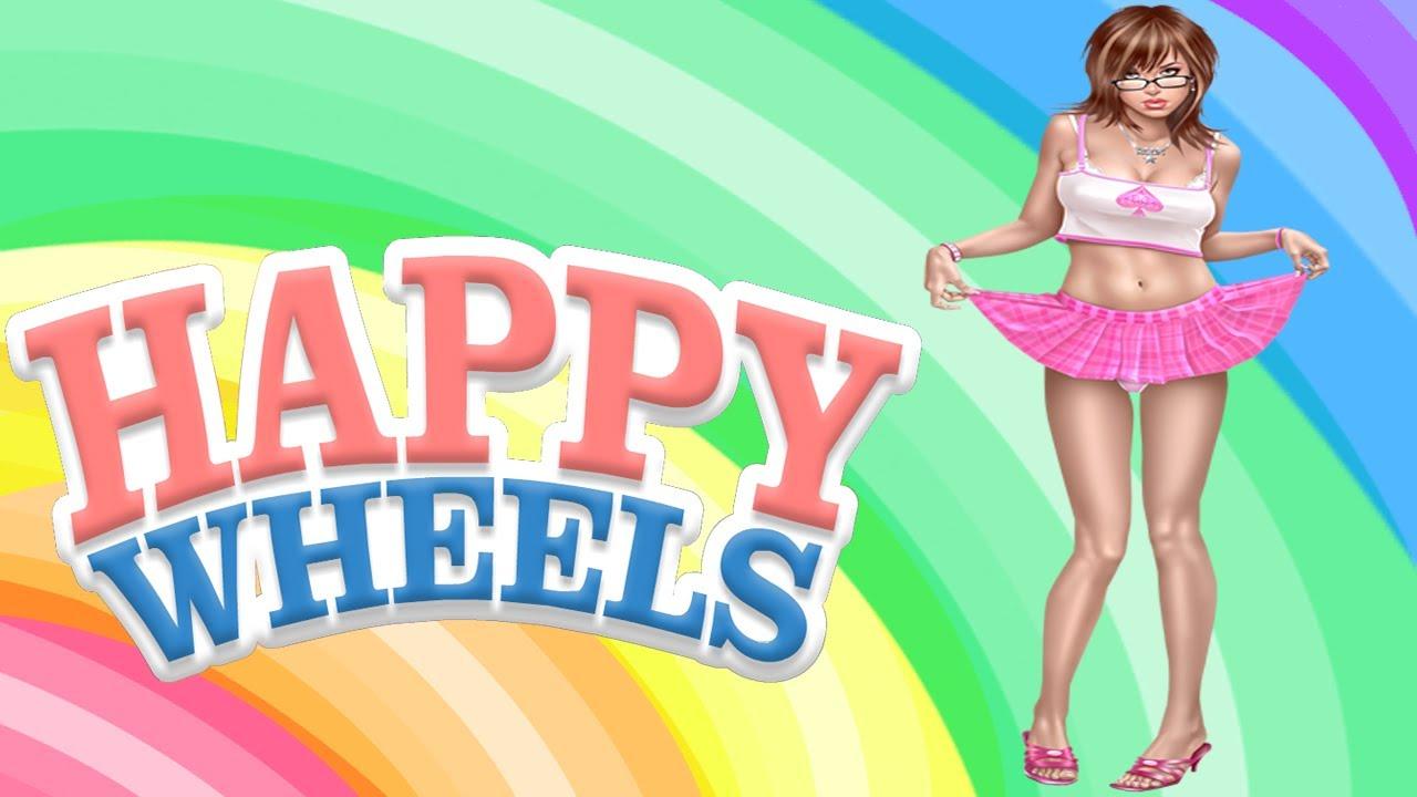 Download Happy Wheels - CHICA DESNUDA GLITCH