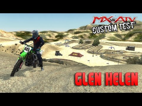 MX Vs ATV REFLEX | Glen Helen 2016 | Track Mods