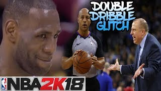 NBA 2k18 | HOW TO DO THE TRAVEL/DOUBLE DRIBBLE GLITCH!!!