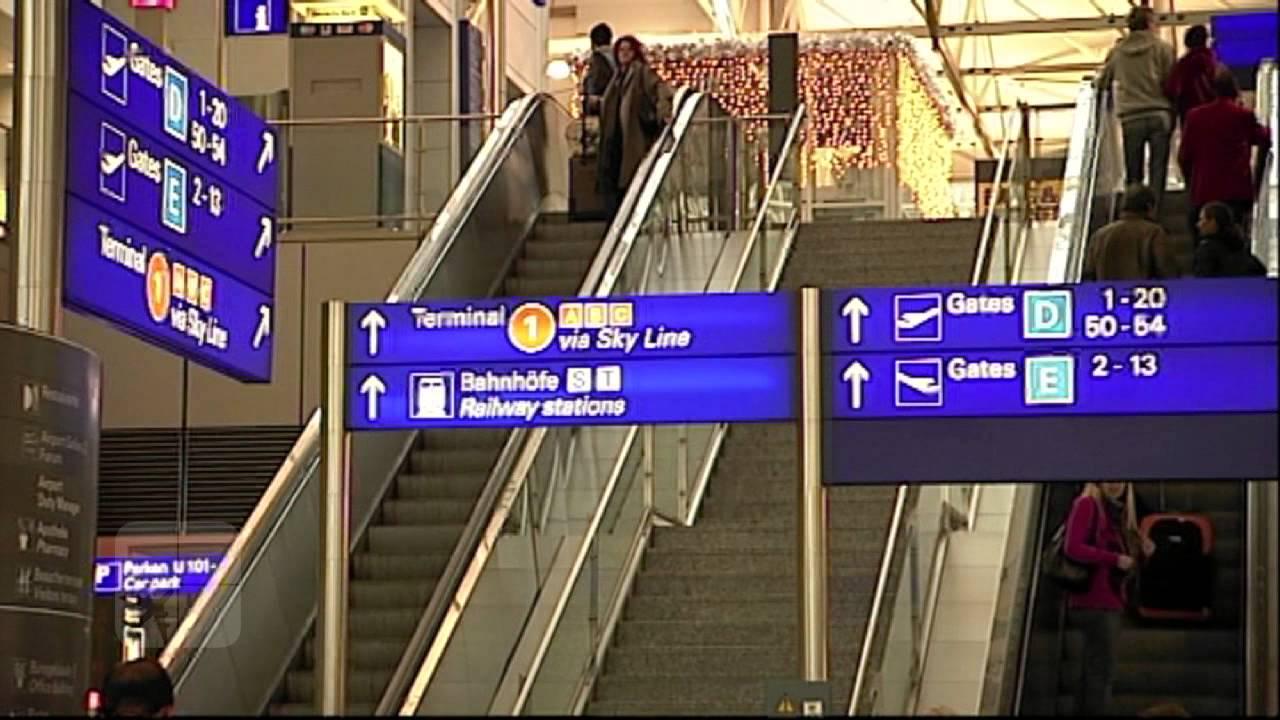 Frankfurt Terminal 1 Ankunft