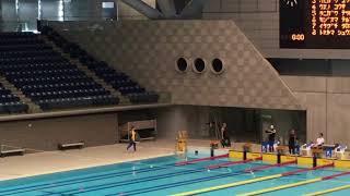2018年フィンスイミング日本選手権 男子50m SF 決勝