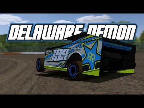 rFactor: Delaware Demon! (Big Block Modifieds @ Delaware Speedway)