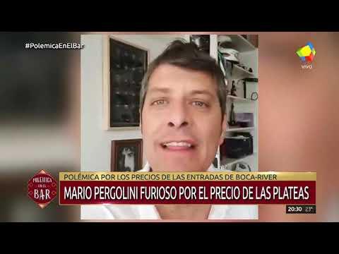 Pergolini furioso por el precio de las plateas de Boca-River