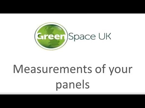Step 1: Measuring your conservatory roof panels