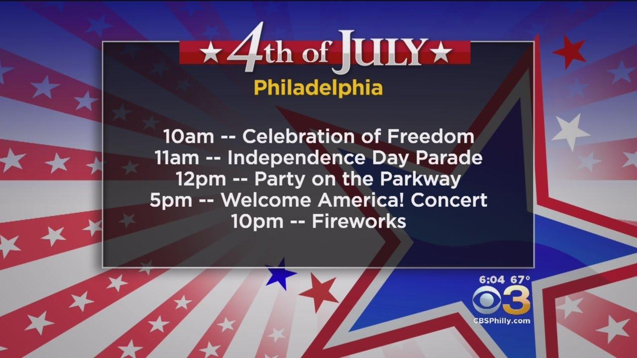 How to celebrate 4th of July in Philadelphia region