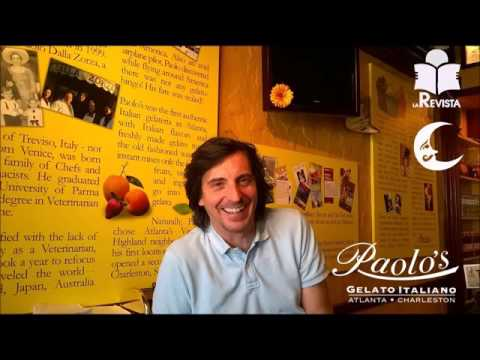 Interview with Paolo Dalla Zorza of Paolo's Gelato