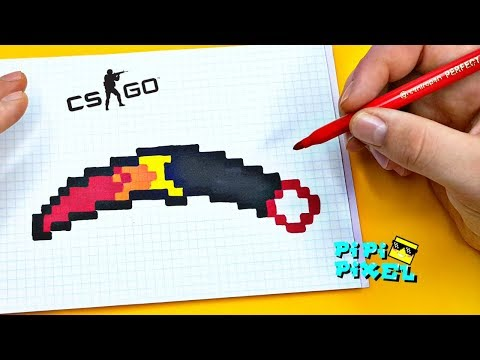 Как нарисовать нож керамбит