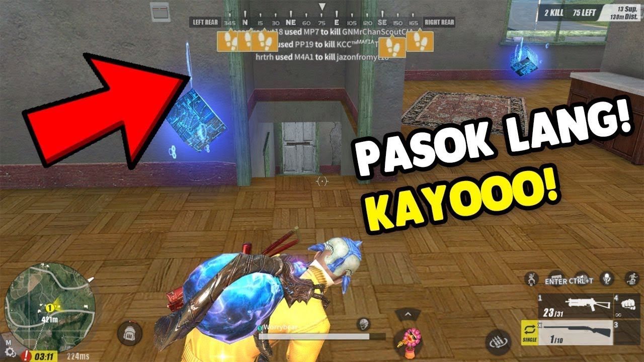 "SOLO VS FIRETEAM ""NAUTAKAN KO SILA""  [TAGALOG] (Rules of Survival: Battle Royale)"