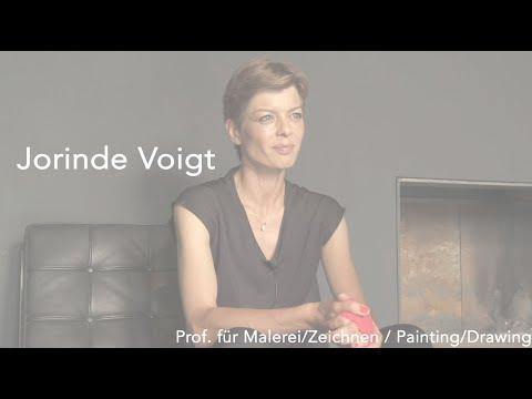 Im Gespräch Mit/Talking To Jorinde Voigt, Prof. Malerei/Zeichnen