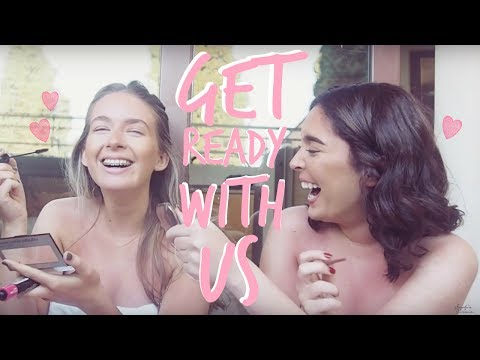 GET READY WITH US | HOLIDAY EDITION | Sophia and Cinzia