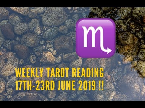 Repeat SCORPIO WEEKLY ENERGIES 10th/17th JUNE 2019    by AnnMarie