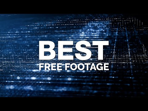 No Copyright Background Video Technology & Digital Abstract 4K Free Stock Footage Internet Networks