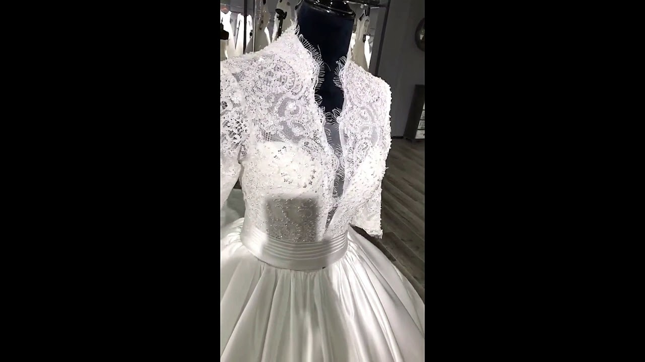Zara Makes Bespoke wedding dress London - YouTube