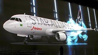 Avianca Brasil - Cerimônia de entrada na Star Alliance