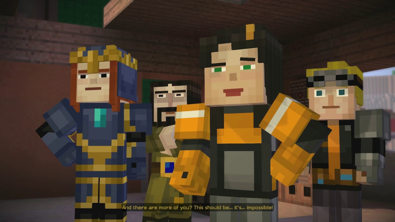 Download Minecraft : Story mode - Episode 7 - Walkthrough (Female Jesse)