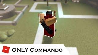 Quão longe você pode ir com apenas Commando (REDO) | Batalhas de torre [ROBLOX]