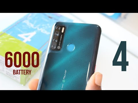 TECNO POUVOIR 4 UNBOXING AND REVIEW - BIGGER AND BETTER