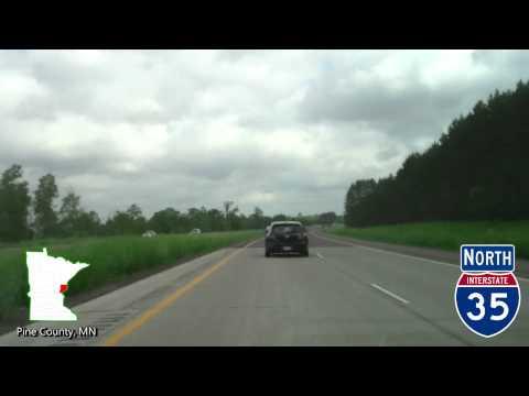 Time Lapse Drive -  Minneapolis to Grand Marais / North Shore