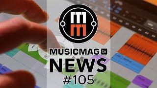 MUSICMAG TV NEWS #105: Новый синтезатор от Legowelt, обновление Elekton, Bitwig Studio 2.4 и др.