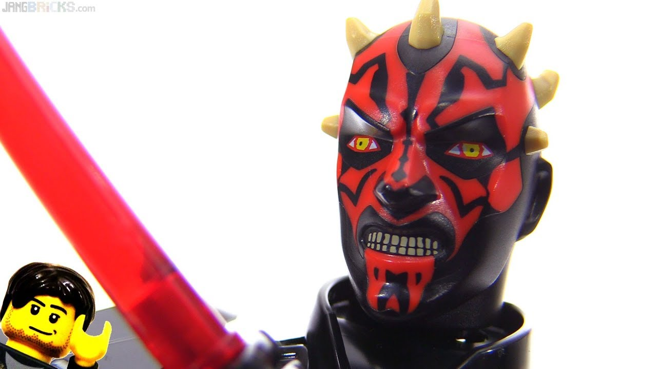 Lego Star Wars Darth Maul Large Action Figure Review 75537 Youtube