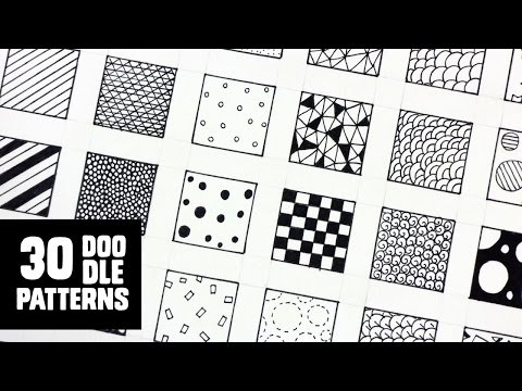30 Patterns for Doodling / Filling gaps