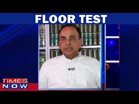 Subramanian Swamy Reacts On Supreme Court's 'Floor Test' Verdict