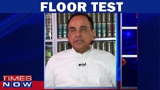 Subramanian Swamy Reacts On Supreme Court's 'Floor Test' Verdict