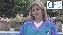 "Claudia Kohde-Kilsch - Tennisspielerin | Doku-Reihe ""Traumberufe"" (1990)"