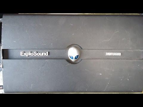 Explosound XM-3600 em proteção como consertar