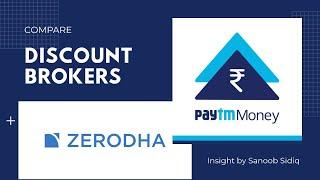 Paytm Money vs Zerodha - Stocks platform