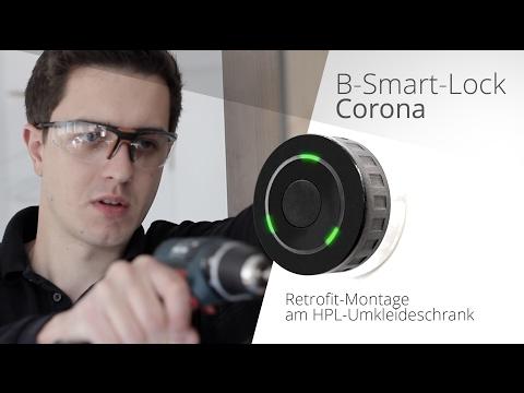 Corona RFID Schloss Installation