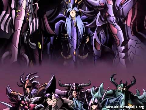 Los Caballeros Del Zodiaco (Saint Seiya) Hades - Infierno