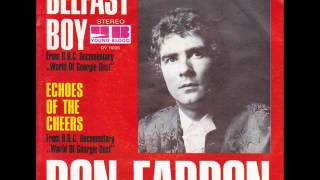 Watch Don Fardon Belfast Boy video