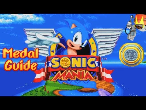 Sonic Mania + Plus: COMPLETE MEDAL GUIDE! ALL SKILLS & EXTRAS Showcase!