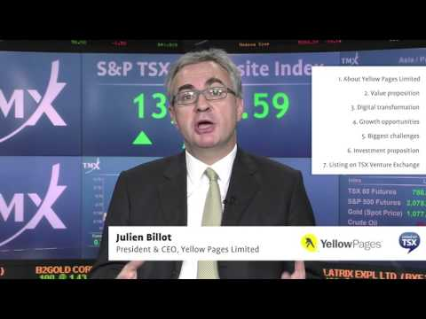 Julien Billot, President and Chief Executive Officer, Yellow Pages Limited