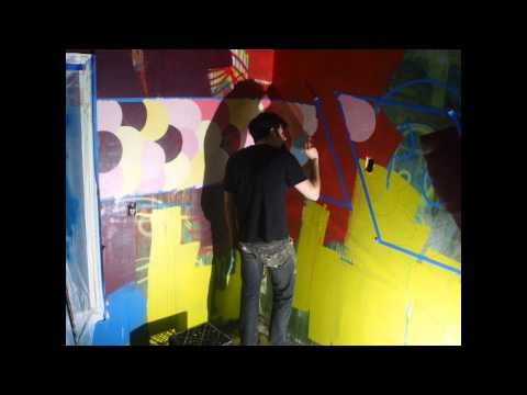Shasta Mural Day 3 - timelapse #3 - Wireless Flash