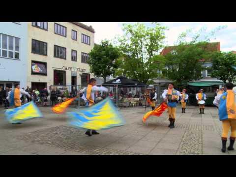 Nysted Middelalder Festival på Torvet i Nykøbing